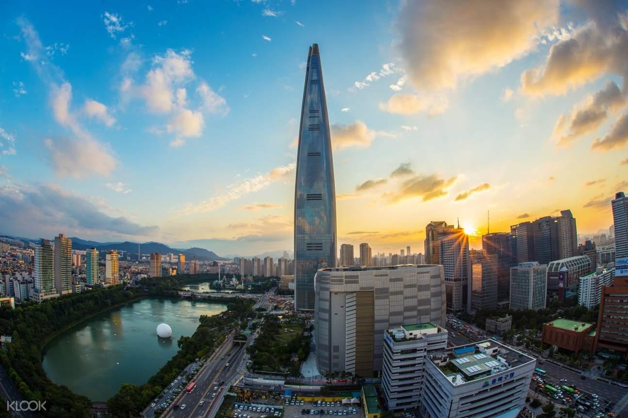 sky tower in seoul